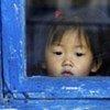 Une fillette en Corée du Nord.