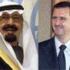 King Abdullah bin Abdulaziz Al Saud of Saudi Arabia and President Bashar Al-Assad of Syria