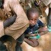 Les enfants au Niger sont victimes de malnutrition en raison de la sécheresse.