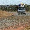 Des essaims de criquets à Madagascar, début mai 2010.