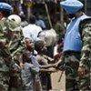 Des casques bleus indiens en patrouille en RDC.
