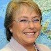 Head of UN Women Michelle Bachelet