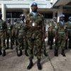 Des troupes de la force de la MINUL.