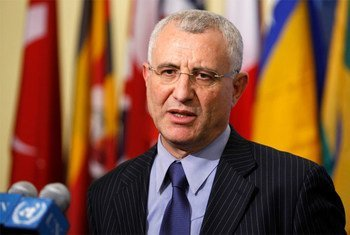 Le Représentant spécial du Secrétaire général pour l'Afrique de l'Ouest, Saïd Djinnit. Photo ONU/P. Filgueiras