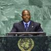 Joseph Kabila, Président de la République démocratique du Congo.