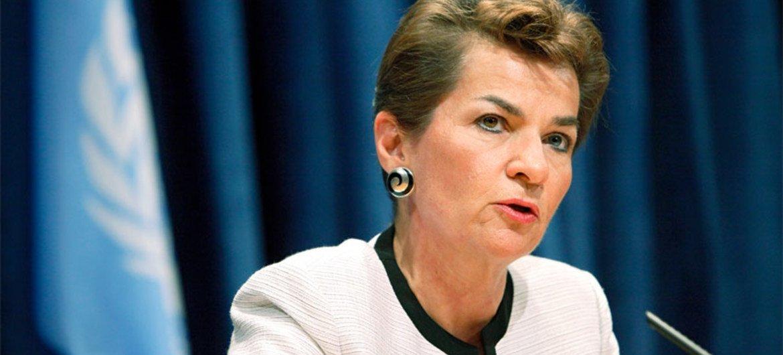 Christiana Figueres, Secrétaire exécutive de la Convention-cadre des Nations Unies sur les changements climatiques (CCNUCC).