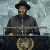 President Goodluck Jonathan of Nigeria