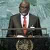 Malam Baci Sanha, President of the Republic of Guinea-Bissau, addresses General Assembly