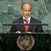 Moulaye Ould Mohamed Laghdaf, Prime Minister of the Islamic Republic of Mauritania, addresses General Assembly
