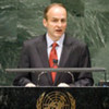 Micheál Martin, Minister for Foreign Affairs of Ireland, addresses the general debate of the sixty-fifth session of the General Assembly.