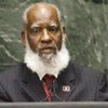 Foreign Minister Wilfred Elrington of Belize