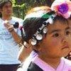 ребенок  из общины Мапуче