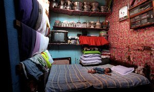 Born stateless, this baby acquired nationality in 2008 in Bangladesh.