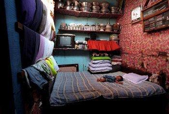 Né apatride, ce bébé d'un minorité parlant ourdou a acquis la nationalité du Bangladesh en 2008.