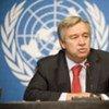 Le chef du HCR, Antonio Guterres.