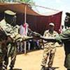 Démobilisation d'anciens combattants dans l'Etat d'Equatoria oriental, au Soudan.