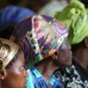 Survivors of sexual violence in the DR of Congo during hearings held by a UN Panel of Experts