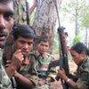 Maoist combatants
