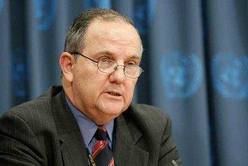 Le Rapporteur spécial des Nations Unies sur la torture et autres peines ou traitements cruels, inhumains ou dégradants, Juan E. Méndez.