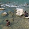 Most people use the River Artibonite, thought to be the source of the cholera epidemic in Haiti