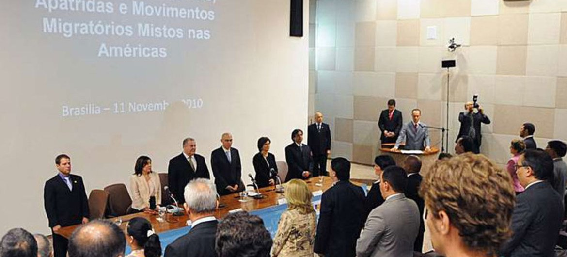Latin America nations pledge more for protection of the displaced and stateless (file photo).