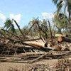 Le cyclone Giri a causé d'importantes destructions au Myanmar.