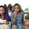 Des victimes des inondations de l'été 2010 au Pakistan.