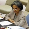 Special Representative for the Central African Republic, Sahle Work-Zewde, briefs the Security Council