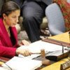 Security Council President Amb. Susan Rice chairs meeting on the situation in the Central African Republic