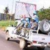 Des Casques bleus en Côte d'Ivoire.