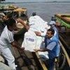 Le HCR achemine de l'aide dans la localité de Cantagallo, au nord de la Colombie, durement touchée par des inondations.