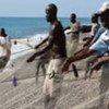 Pescadores en Haití