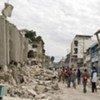 The earthquake in Haiti on 12 January 2010 topped the list of disasters for last year