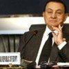 Le Président d'Egypte, Hosni Moubarak.