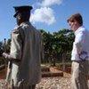 UNODC's Alan Cole (right) with Kenya's Commissioner of Prisons Isaya Osugo