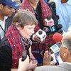 UNDP Administrator Helen Clark in Sindh, Pakistan
