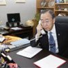Secretary-General Ban Ki-moon discusses developments in Middle East and North Africa with chief of Arab League Amr Moussa