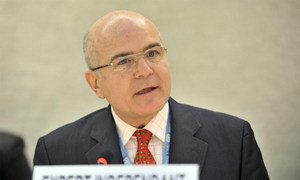 Michel Forst, UN Independent Expert on the situation of human rights in Haiti.