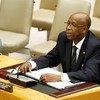 Special Representative Joseph Mutaboba briefs the Security Council on Guinea-Bissau.