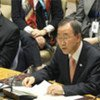 Secretary-General Ban Ki-moon addresses Security Council meeting on the situation in Libya