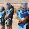 UN Mine Action Service (UNMAS) at work in Western Sahara
