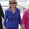Irina Bokova y<br>Estela de Carlotto