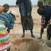 Thousands of people have been displaced due to drought in Somalia