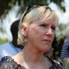 Special envoy Margot Wallström, visiting the DRC in October 2010, listens to the public about rapes