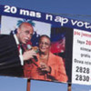 مرشحا الرئاسة مارتلي ومانيغات