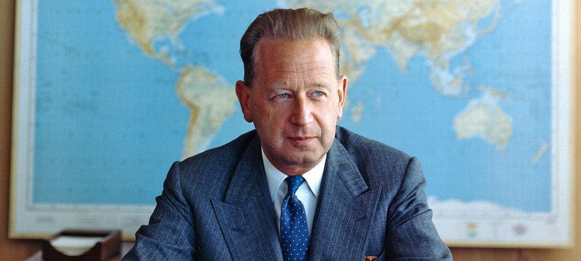Второй Генеральный секретарь ООН Даг Хаммаршельд