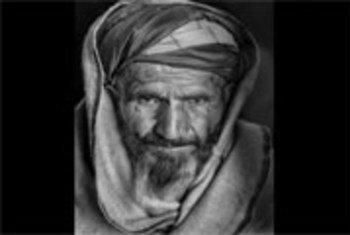 Un survivant de mines en Afghanistan.