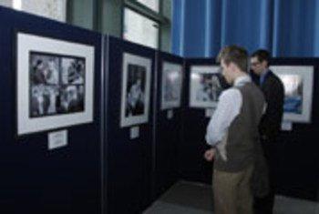 Фотовыставка, посвященная «Юрию Гагарину - первому человеку в космосе».