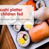 A plate of sushi costing $20 could potentially feed over 80 children for an entire day
