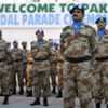 Members of the Pakistani Formed Police Unit serving with the UN Mission in Haiti
